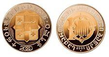 Georgia 10 Lari 2000 Years Birth of Christ TOP Bi-Metallic Collector Coin