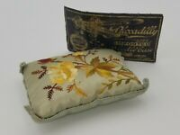 Antique 1940s Piccadilly German Airplane Sewing Needle Book Kit and Pin Cushion