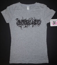 "Gymnastic ""GYMNAST"" T Shirt 3 Color Choices Ladies or Girls Sizes Nwt"