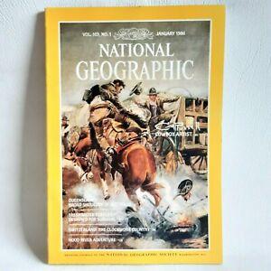 National Geographic Magazine January 1986