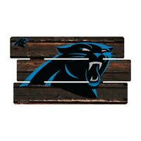 Carolina Panthers Defense Holzschild XL  63 cm ! !,NFL Football,Fence Sign
