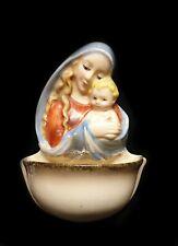 alter Weihwasserkessel von Goebel / Hummel aus Keramik - Maria
