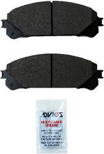 Disc Brake Pad Set Front WD Express 520 13240 032