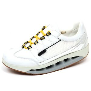 F4024 sneaker donna white/silver SCHOLL STARLIT scarpe leather/tissue shoe woman