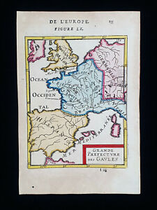 1683 A.M. MALLET: France, North Europe, Spain, England, Paris, North Italy...