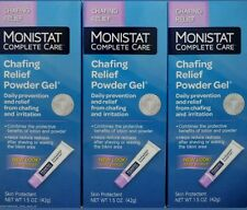 3x MONISTAT Soothing Care Chafing Relief Powder-Gel 1.5 oz.