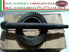 COPPIA CONICA 8/43 FIAT 600 ABARTH 600D 850 1000 ORIGINALE BEVEL GEAR PINION SET