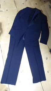 Luxus Designer Anzug Smoking Blazer Sakko Hose Wilvorst Gr. 52 neuwertig
