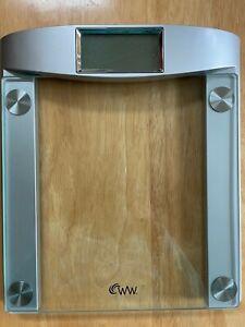 Conair WW Chrome & Glass LED Bathroom Scale Model #48GD