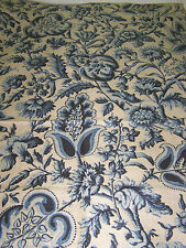 "VINT.1960's SCALAMANDRE FABRIC OVERSIZED MEMO SAMPLE - 100% LINEN ""TREE OF LIFE"""