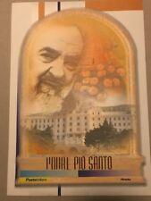 FOLDER 2002 -  PADRE PIO LAMINA D'ORO SOTTO IL  VALORE FACCIALE SERIE LIMITATA