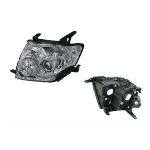 Headlight Left for Mitsubishi Pajero NS/NT/NW/NX 11/2006-09/2015 Halogen Manual