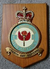 Large RAF 2 Flying Training School Military Badge Plaque Shield- Royal Air Force
