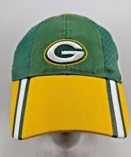 Green Bay Packers Reebok NFL Equipment Youth Strap back Hat Baseball Cap