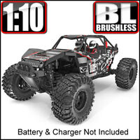 Redcat Racing Camo X4 Pro1/10 Scale Brushless Electric 4WD RC Rock Racer Red NEW