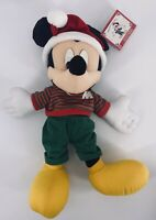 Holiday Mickey Mouse Plush Exclusively For Kohl's By Mattel