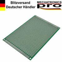 Doppelseitige Lochrasterplatinen Leiterplatte 8 cm x 12 cm Arduino Raspberry