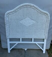 "Wicker Head Board. Beautiful. Twin Bed Size (W 38"" x T 48"") Excellent Condition"