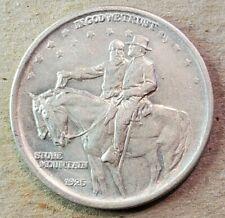 1925 Stone Mountain Commemorative Half Dollar Au-Bu