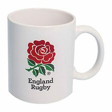 England Red Rose Crest Rugby World Cup 2015 White Coffee Tea Mug Boxed RRP £7.99
