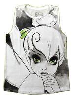 Wet Seal Disney Womens Tinkerbell Tinker Bell Muscle Tank Shirt New XS, S