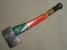 1960 Emerson & Stevens Co Oakland Maine ME Hand Made Belt Ax Axe 2 1/2 lb Head