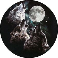 4x4 Spare Wheel Cover 4 x 4 Camper Camper Graphic Vinyl Sticker Wolves 104