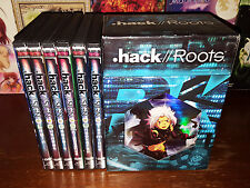 DOT HACK SIGN + .hack ROOTS Complete Collections Limited Box Rare OOP Anime DVDs