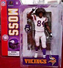 2006 McFarlane Football NFL Series 13 Randy Moss Vikings Afro #41 Action Figure