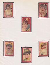 Série Anciennes étiquettes glacées allumettes Suède BN21443 Femmes