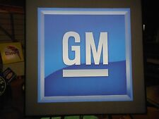 GM Lighted Sign