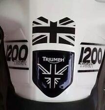 TRIUMPH TANKPAD * AWESOME NEW BLACK & WHITE TANK PAD