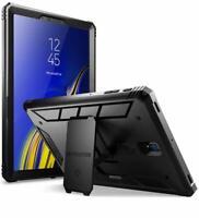 Poetic® For Samsung Galaxy Tab S4 10.5 Case [Revolution] w/ Kick-Stand Black
