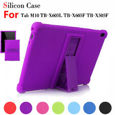 Silicone Case Cover For Lenovo Tab M10 TB-X605F 10.1 in Shockproof Stand Tablet