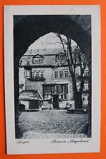 AK Siegen 1930er Museum Siegerland Hausansicht Gebäude Innenhof ... NRW 2