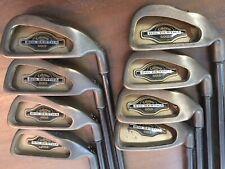 Callaway Big Bertha Gold Irons 3-PW with regular flex graphite shafts