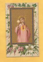 IMAGE PIEUSE IMMAGINETTE SACRE COEUR DE JESUS  ANCIENNE