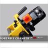 HOT! Portable Chamfer Chamfering Beveling Machine 0 - 9 mm 15 - 45° fast ship