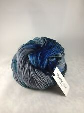 Chaotic Evil Kettle dyed/speckled yarn - Ice Troll - grey, blue, teal, green