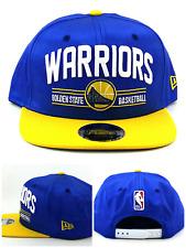 various colors e5587 fc6a5 Golden State Warriors ST NBA New Era 9Fifty Arch Logo Blue Gold Snapback  Hat Cap