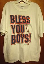 DETROIT TIGERS Bless You Boys XL tee baseball 2006 T shirt WDIV channel Local 4