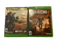 Lot of Two (2) Xbox One Games Deadrising 4, Titanfall