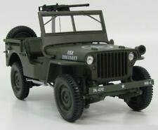 Jeep Willys military vehicle us army 1:18 Norev
