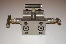 Anderson Greenwood M4AVS manifold, SS316, 6000PSI@200F, 4000PSI@500F warranty