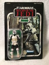 STAR WARS SAGA 2006 VTSC BIKER SCOUT TROOPER ENDOR ROTJ VINTAGE New Kenner