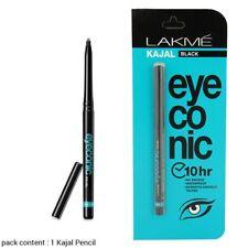2 Pcs. of Lakme Eyeconic Kajal, Black 0.35 g