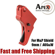 Apex Tactical M&P Shield 9mm & 40S&W Action Enhancement Aluminum Trigger – Red
