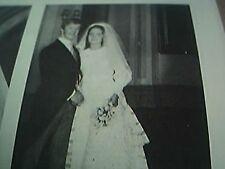 ephemera 1972 kent picture wedding r k fawcus miss jane munns rochester