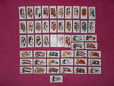 REPRO CIGARETTE CARDS BY OGDENS - FLAGS & FUNNELS OF LEADING STEAM SHIP LINES