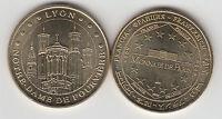 Gertbrolen LYON 2008 Basilique Notre-Dame de Fourvière Médaille Monnaie de Paris